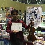 2016年 愛知県主催、文化庁後援イベントAWARD受賞